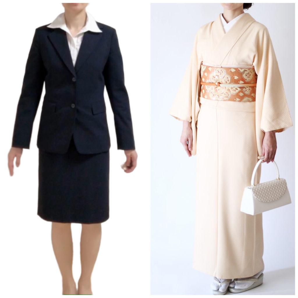 浦安,着付け,教室,スーツ,着物,比較,入学式,卒業式,母親,スタイル